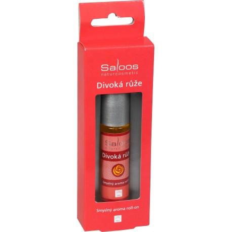 Bio aroma roll-on Divoká růže (Smyslný) 9ml - SALOOS