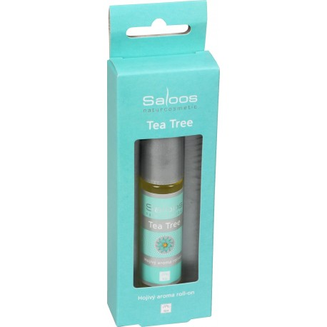 Bio aroma roll-on Tea Tree (Hojivý) 9ml - SALOOS