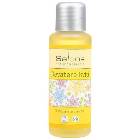 Tělový a masážní olej Devatero kvítí  50ml - SALOOS