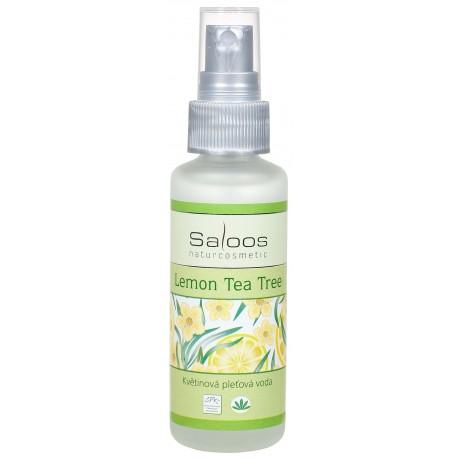Květinová pleťová voda Lemon Tea tree  50ml - SALOOS