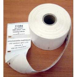Etikety / Štítky Dymo Label Writer 57x32mm, 11354, S0722540, 1000ks kompatibilní - DYMO