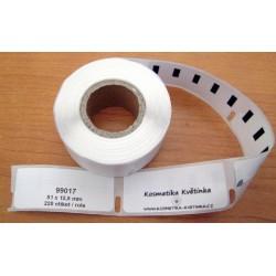 Etikety / Štítky Dymo Label Writer 50x12mm, 99017, S0722460, 220ks kompatibilní - DYMO