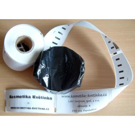 Etikety / Štítky Seiko Label adresní 28x89mm , SLP-2RL, SLP-2RLH, SLP-1RL, SLP-R2RL  130ks - kompatibilní - SEIKO
