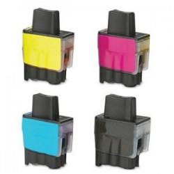 Sada 4ks Brother LC-900 / LC-950 XL - DCP-110,DCP-115,MFC-210,MFC-425,MFC-3240 - kompatibilní inkoustové náplně (cartridge)
