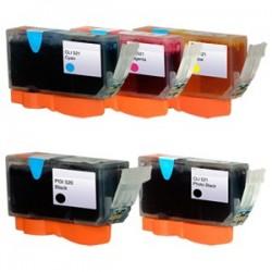 Sada Canon PGI-5 / CLI-8 (PGI5BK, CLI8) PIXMA - kompatibilní inkoustové náplně (cartridge) - Canon