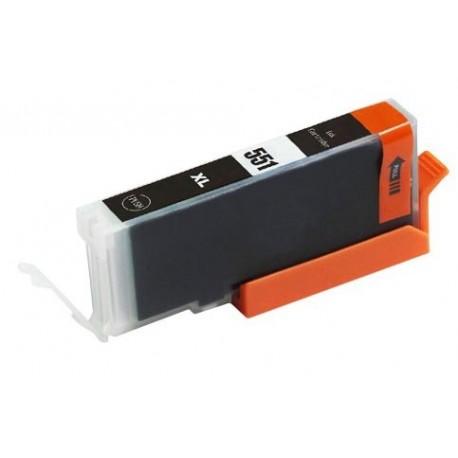 Canon CLI-551BK černá (CLI-551XL,PGI-550) IP7250/MG5450/MG6350/MX725/ MX925 - kompatibilní inkoustová nápln (cartridge)  - Canon