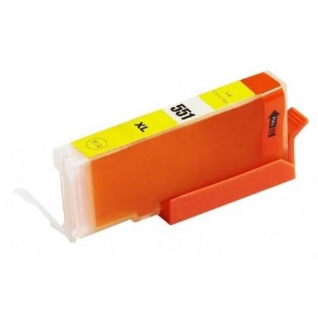 Canon CLI-551Y žlutá (yellow) (CLI-551XL,PGI-550) IP7250/MG5450/MX725 - kompatibilní inkoustová nápln (cartridge)  - Canon