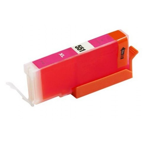 Canon CLI-551M červená (magenta) (CLI-551XL,PGI-550) IP7250/MG5450/MX925 - kompatibilní inkoustová nápln (cartridge)  - Canon
