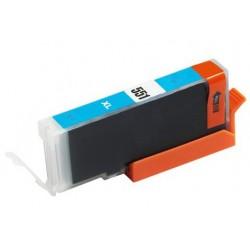 Canon CLI-551C modrá (cyan) (CLI-551XL,PGI-550) IP7250/MG6350/MX725/ MX925 - kompatibilní inkoustová nápln (cartridge)  - Canon
