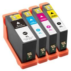 Sada 4ks Dell V252W V725W - kompatibilní inkoustové náplně (cartridge) - DELL