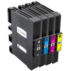 Sada Ricoh GC-41- (GC41, 405761, 405762, 405763, 405764) SG-3110, SG-3100, SG-7100 - kompatibilní inkoustové náplně (cartridge)