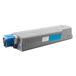 Toner Oki C610 44315307 modrý (cyan) 6000 stran kompatibilní - Oki C610DN, C610N, C610DTN