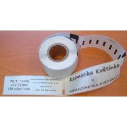 Etikety / Štítky Dymo Label Writer 89x28mm, 99011, S0722380,  130ks modré kompatibilní - DYMO