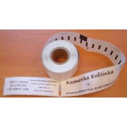 Etikety / Štítky Dymo Label Writer 89x28mm, 99011, S0722380,  130ks růžové kompatibilní - DYMO