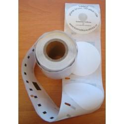 Etikety / Štítky Dymo Label Writer na CD a DVD (průměr 57mm), 14681, S0719250, 160ks kompatibilní - DYMO