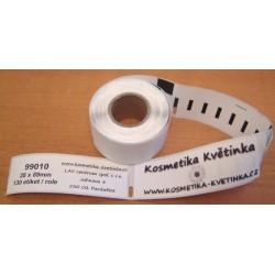 7x Etikety / Štítky Dymo Label Writer 89x28mm, 99010, S0722370,  7x 130ks kompatibilní - DYMO