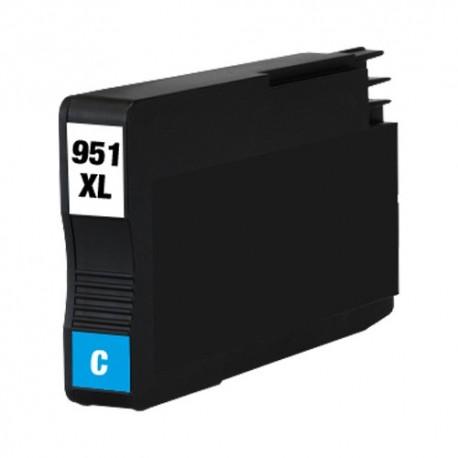 Cartridge HP 951XL (951 XL, 950XL, CN046A) modrá (cyan) s čipem HP Officejet Pro 8100, 8600 - kompatibilní inkoustová náplň