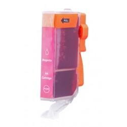 Cartridge Canon CLI-526M (CLI-526, PGI-525) červená (magenta) - kompatibilní inkoustová náplň - MG-5250, MG-8150, MG-5150