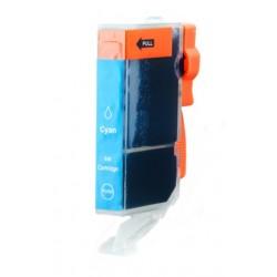 Cartridge Canon CLI-8C (PGI-5, CLI-8) modrá (cyan) - kompatibilní inkoustová náplň - IP-3300, IP-4200, MP-500, MP-600