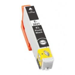 Cartridge Epson T2631 - 26XL fotočerná (photo black) - komp. inkoustová náplň - Epson Expression Pro XP-600,XP-605,XP-800,XP-700