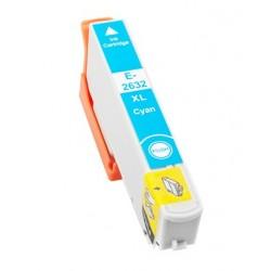 Cartridge Epson T2632 - 26XL modrá (cyan) - komp. inkoustová náplň - Epson Expression Pro XP-600, XP-605, XP-800, XP-700