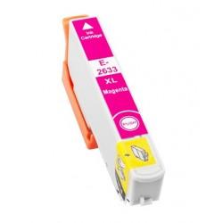 Cartridge Epson T2633 - 26XL červená (magenta) - komp. inkoustová náplň - Epson Expression Pro XP-600, XP-605, XP-800, XP-700