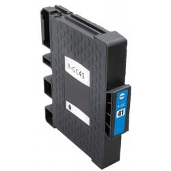 Cartridge Ricoh GC-41C (GC41, GC41C, 405762) modrá (cyan) - SG-3110, SG-3100, SG-7100 - kompatibilní inkoustová náplň