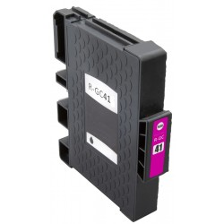 Cartridge Ricoh GC-41M (GC41, GC41M, 405763) červená (magenta) - SG-3110, SG-3100, SG-7100 - kompatibilní inkoustová náplň