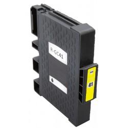 Cartridge Ricoh GC-41Y (GC41, GC41Y, 405764) žlutá (yellow) - SG-3110, SG-3100, SG-7100 - kompatibilní inkoustová náplň