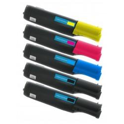 5x Toner Dell 3000 / 3000CN / 3100 / 3100CN (C/M/Y/K) K4972 K4973 K4974 P6731 M6935 T6412 K4971 vysokokapacitní kompatibilní
