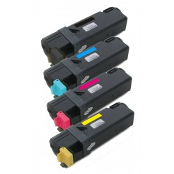 4x Toner Dell 1320 / 1320C / 1320CN / 1320DN - C/M/Y/K DT615, KU061, PN124, WM138 vysokokapacitní kompatibilní