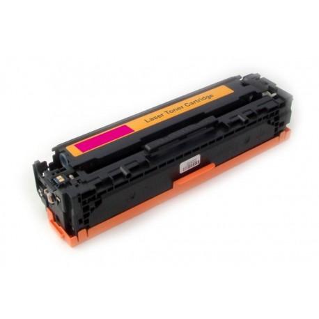 Toner HP CB543A  (CB543, 125A) červený (magenta) 1400stran kompatibilní - LaserJet CP-1210 / CM-1312 MFP / CP-1214 / CP-1515