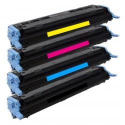 4x Toner HP Q6000A, Q6001A, Q6002A, Q6003A LaserJet 1600 / 2600 / 2605 / CM-1015 - C/M/Y/K kompatibilní