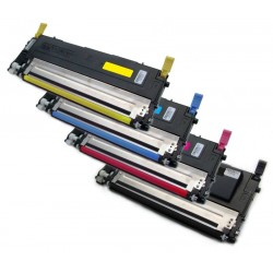 4x Toner SAMSUNG CLT-P4072C (sada 4072 K4072S M4072 Y4072S C4072 P4072C P4072B) -  komp. CLP-320 CLP-325