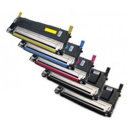5x Toner SAMSUNG CLT-P4072C (K4072S M4072S Y4072 C4072S P4072S P4072C) - komp. CLP-320 CLP-325 CLX-3185