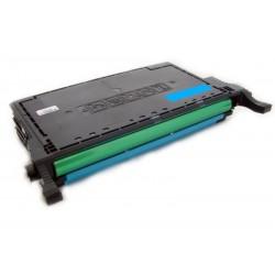 Toner Samsung CLP-C660B (C660A C660B C660) modrý (cyan) 5000 stran kompatibilní - CLP-605, CLP-610, CLP-615, CLX-6200, CLX-6210