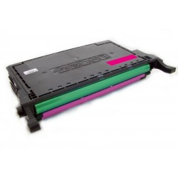 Toner Samsung CLP-M660B (M660A, M660B, M660) červený (magenta) 5000 stran komp. - CLP-605, CLP-610, CLP-615, CLX-6200, CLX-6210