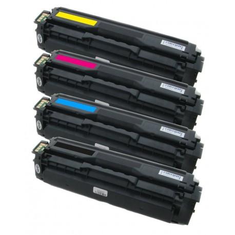 4x Toner Samsung CLT-P504S (P504C, K504s, Y504S, M504S, C504S) C/M/Y/K kompatibilní - CLP-415 / CLP-415N / CLX-4195N