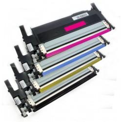 4x Toner Samsung CLT-P406C (CLT-P406S, P406C, K406S, Y406S, M406S, C406M) (C/M/Y/K) komp. - CLP-360 / CLP-365 / CLX-3300