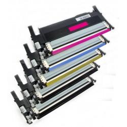 5x Toner Samsung CLT-P406C (CLT-P406S, P406C, K406S, Y406S, M406S, C406M) (C/M/Y/2x K) komp - CLP-360 / CLP-365 / CLX-3300