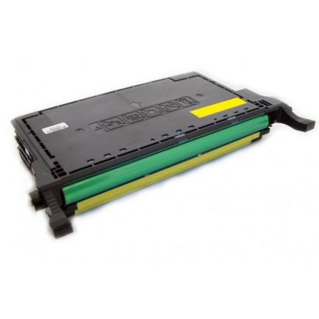 Toner Samsung CLT-Y6092S (Y6092S, Y6092) žlutý (yellow) 7000 stran kompatibilní - CLP-770, CLP-770ND, CLP-775, CLP-775