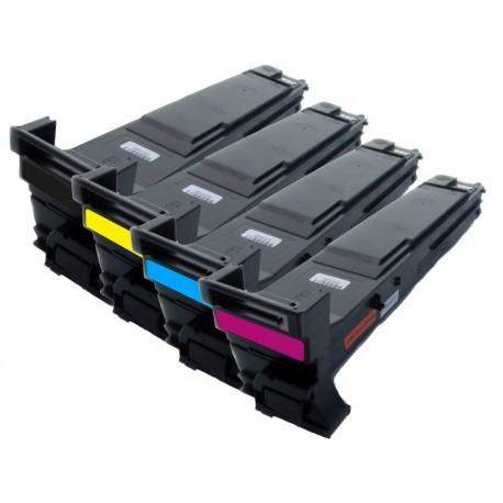 Sada 4x Toner Konica Minolta Magicolor A06VJ53, A06V153, A06V453, A06V353, A06V253 - C/M/Y/K kompatibilní - 5500, 5550, 5650
