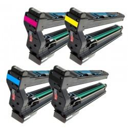 4x Toner Konica Minolta Magicolor 5430, 5430DL, 9960A1710594001, 1710582001 (4539432), 1710582002, 1710582003, 4539332 komp.