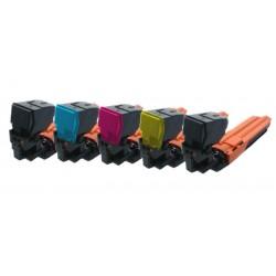 Sada 5x Toner Konica Minolta TNP-20, TNP-20K, A0WG0JH, A0WG07H, A0WG02H, A0WG0DH - C/M/Y/2xK kompatibilní - 3730, 3730N, 3730DN