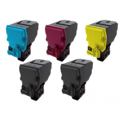 5x Toner Konica Minolta Magicolor TNP-18,  TNP-18K, A0X5150, A0X5250, A0X5350, A0X5450 - C/M/Y/2xK kompatibilní -  4750 / 4750DN