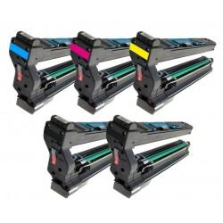 5x Toner Konica Minolta Magicolor 5430, 5430DL, 9960A1710594001, 1710582001 (4539432),  1710582003, 4539332 - C/M/Y/2xK komp.