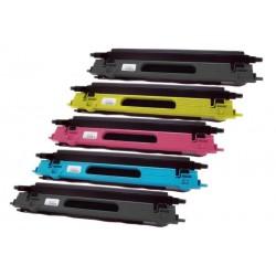 5x Toner Brother TN-135 (TN-135BK, TN-135Y, TN-135C, TN-135-M) - C/M/Y/2x K kompatibilní - DCP-9040, MFC-9450, HL-4050