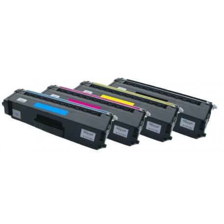 4x Toner Brother TN-325 (TN-325Bk, TN-325C, TN-325Y, TN-325M) - C/M/Y/K kompatibilní - HL-4140, MFC-9460, DCP-9270