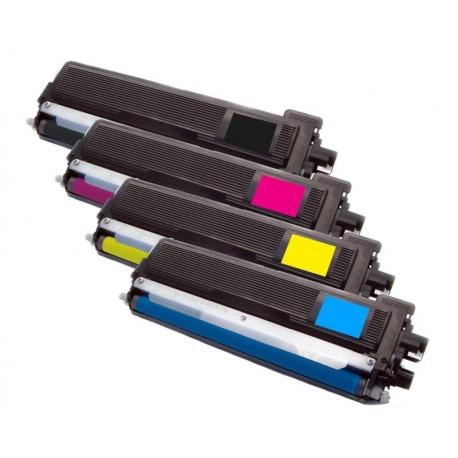4x Toner Brother TN-230 (TN-230BK, TN-230C, TN-230M, TN-230Y) - C/M/Y/K kompatibilní - HL-3040, HL-3070, MFC-9120, DCP-9010