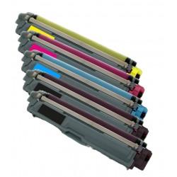 5x Toner Brother TN-245 (TN-245Bk, TN-241BK, TN-245Y, TN-245C, TN-241M) - C/M/Y/2xK kompatibilní - DCP-9020, HL-3150, MCF-9330